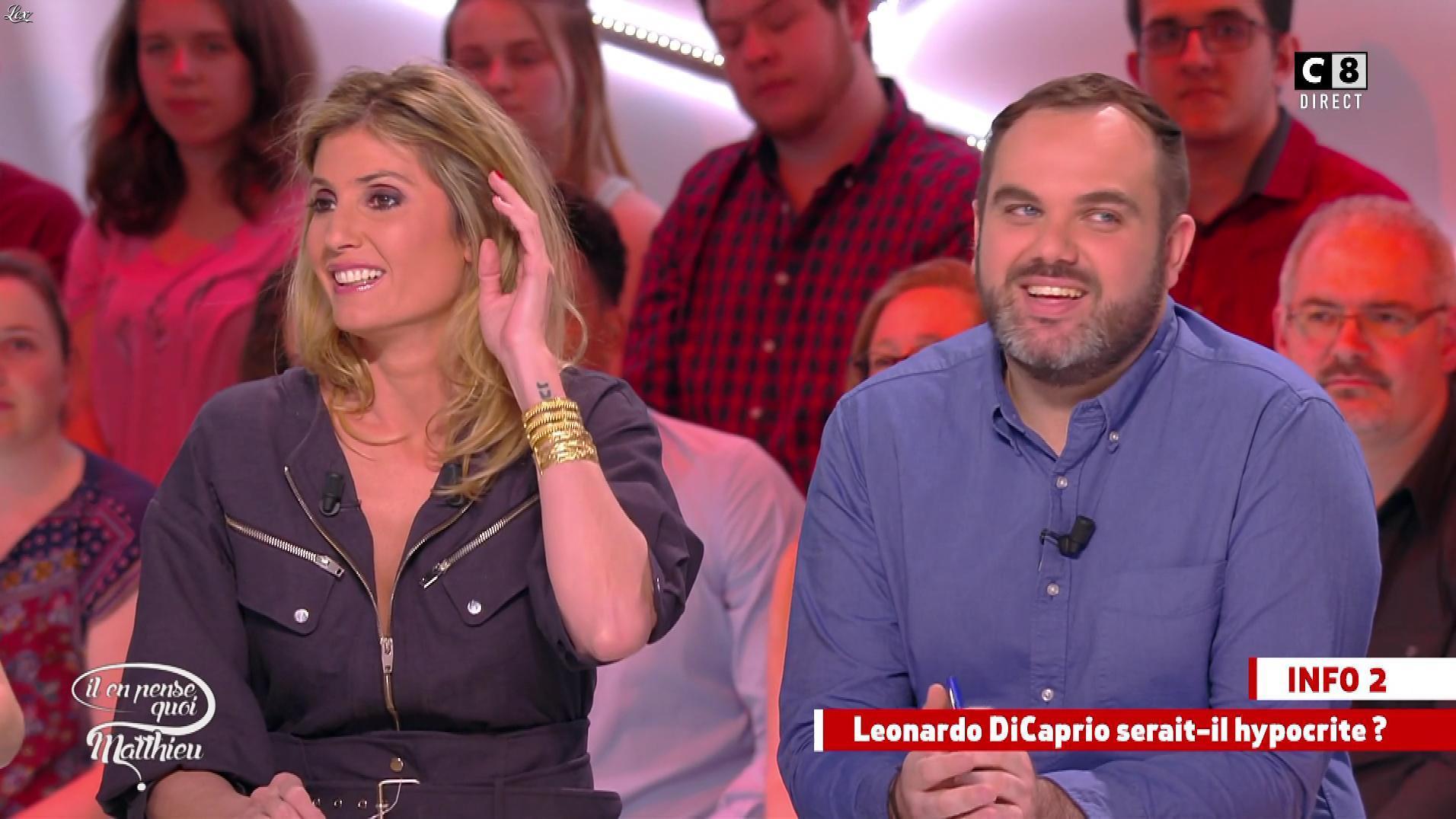 Caroline Ithurbide dans Il en Pense Quoi Matthieu. Diffusé à la télévision le 07/04/17.