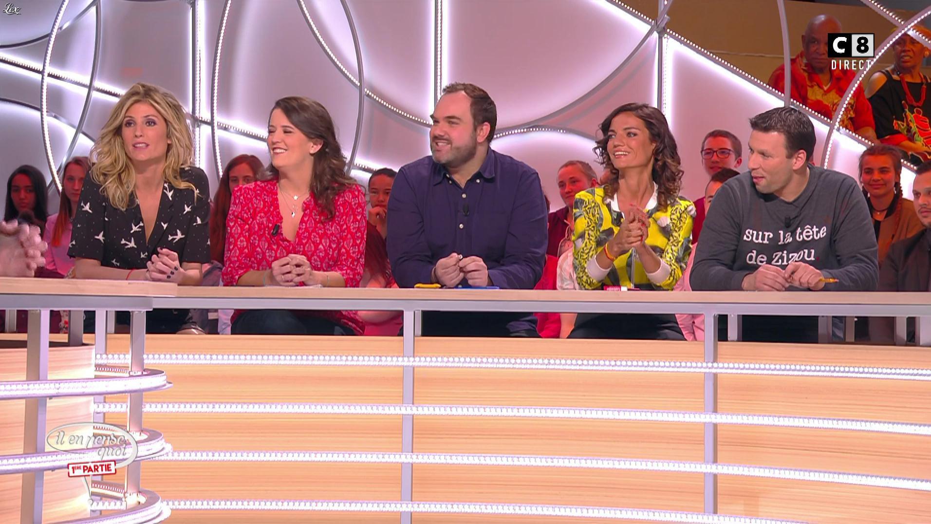 Caroline Ithurbide dans Il en Pense Quoi Matthieu. Diffusé à la télévision le 17/03/17.