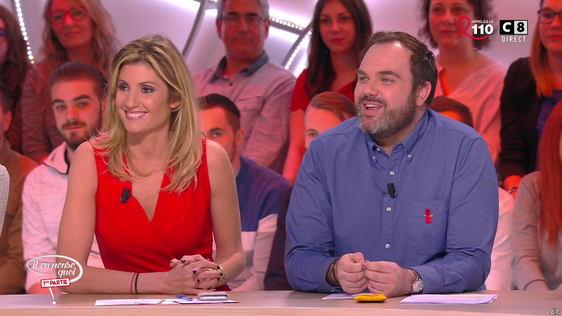 Caroline Ithurbide dans Il en Pense Quoi Matthieu. Diffusé à la télévision le 24/03/17.