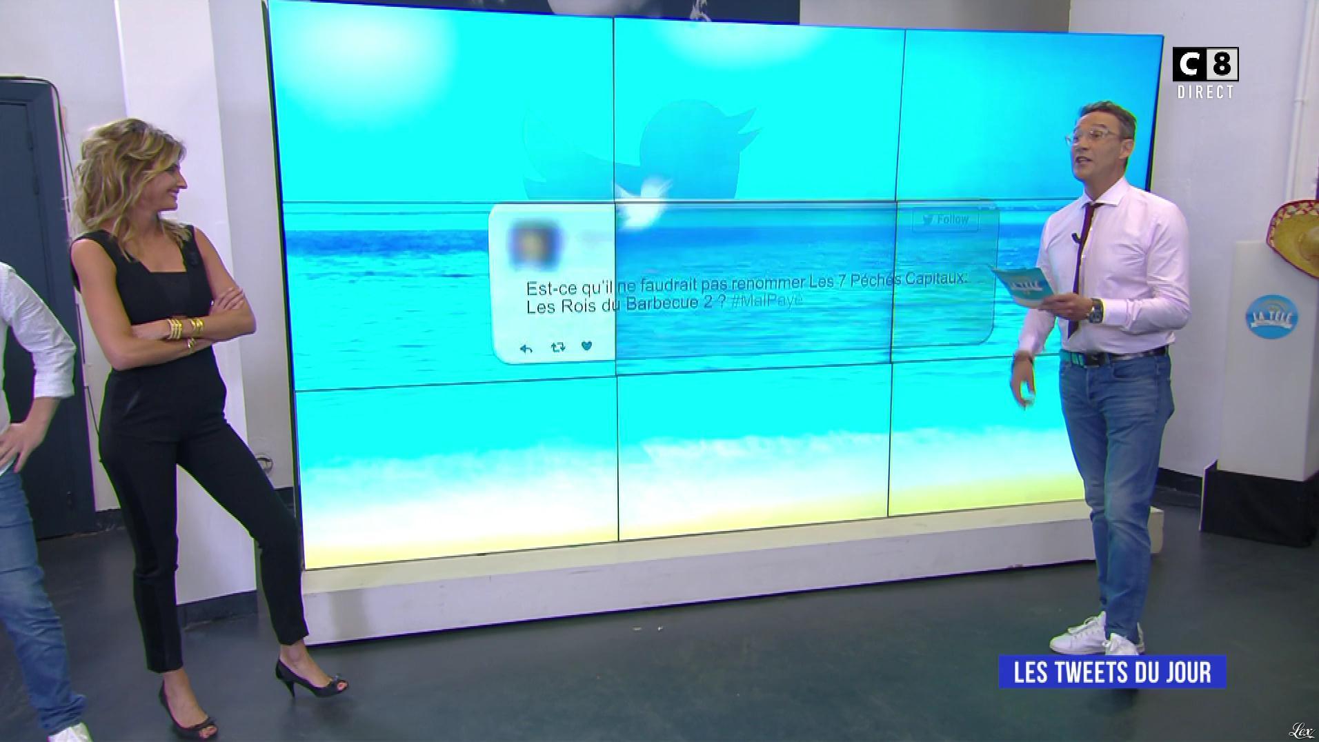 Caroline Ithurbide dans la Télé, même l'été. Diffusé à la télévision le 03/07/17.