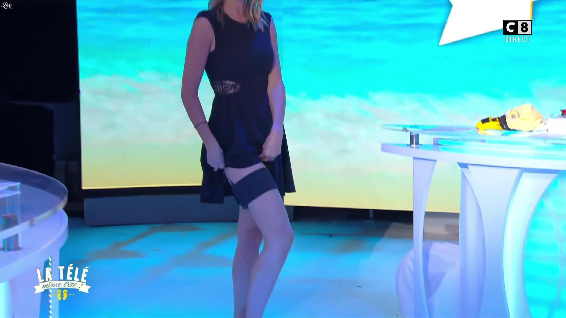 Caroline Ithurbide dans la Télé, même l'été. Diffusé à la télévision le 06/07/17.