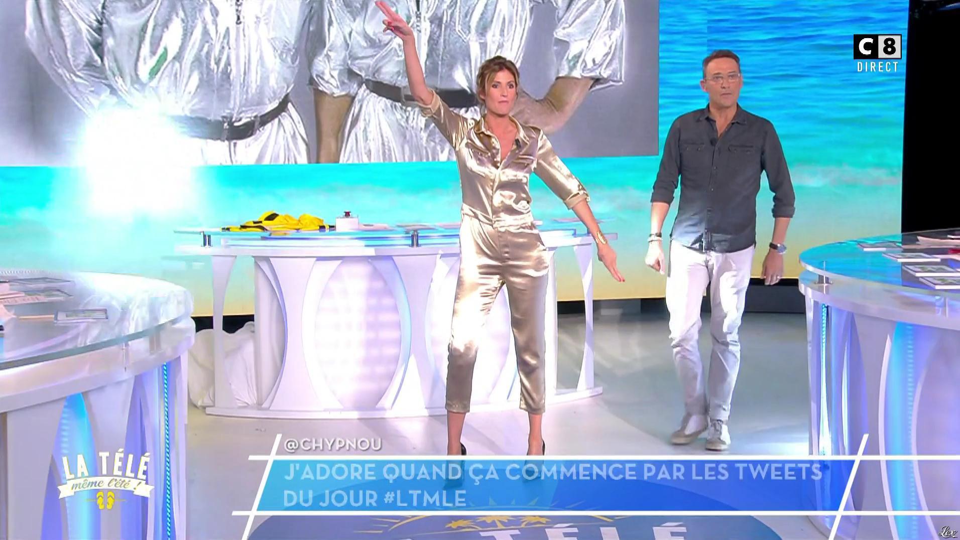 Caroline Ithurbide dans la Télé, même l'été. Diffusé à la télévision le 10/07/17.