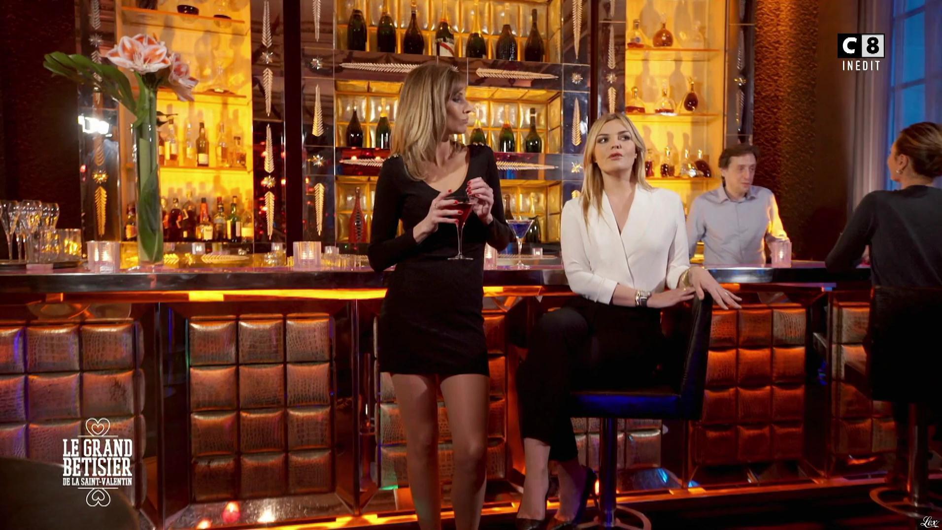 Caroline Ithurbide dans le Grand Bêtisier. Diffusé à la télévision le 14/02/17.