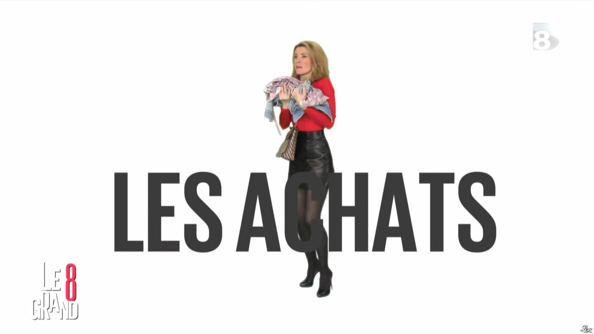 Elisabeth Bost dans le Grand 8. Diffusé à la télévision le 15/04/16.