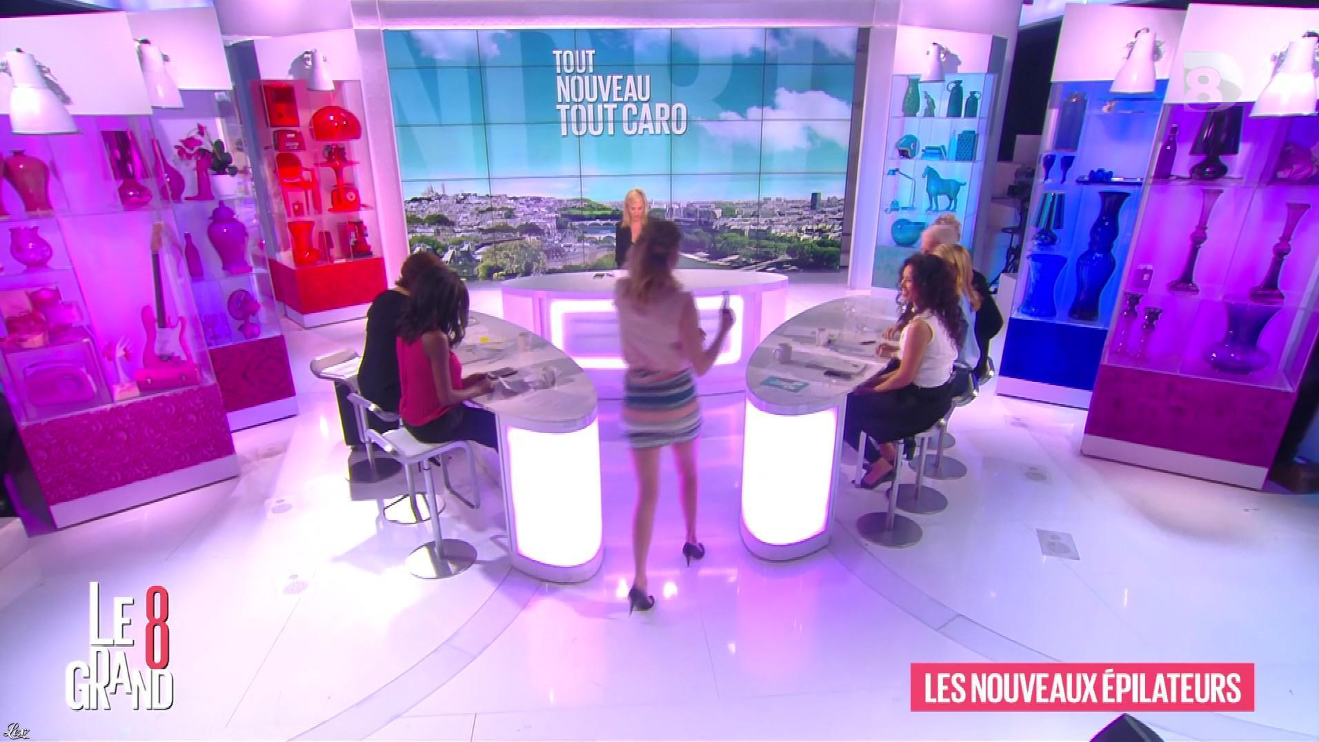 Hapsatou Sy, Aïda Touihri et Caroline Ithurbide dans le Grand 8. Diffusé à la télévision le 15/04/16.
