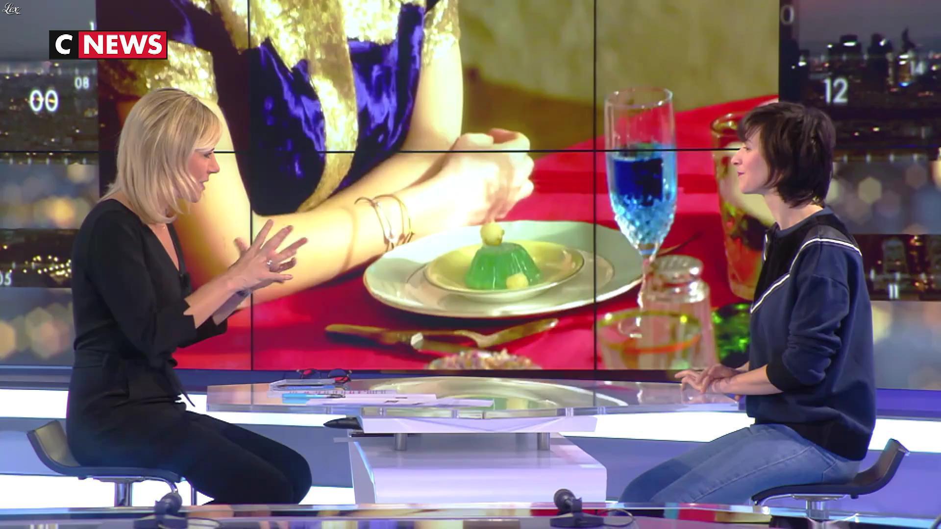Laurence Ferrari dans la Playlist. Diffusé à la télévision le 17/02/18.