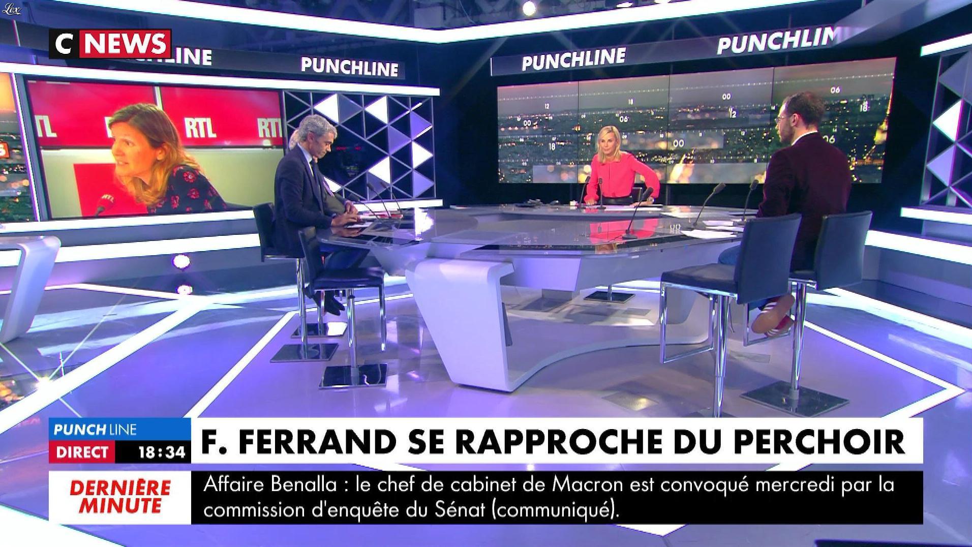 Laurence Ferrari dans Punchline. Diffusé à la télévision le 06/09/18.