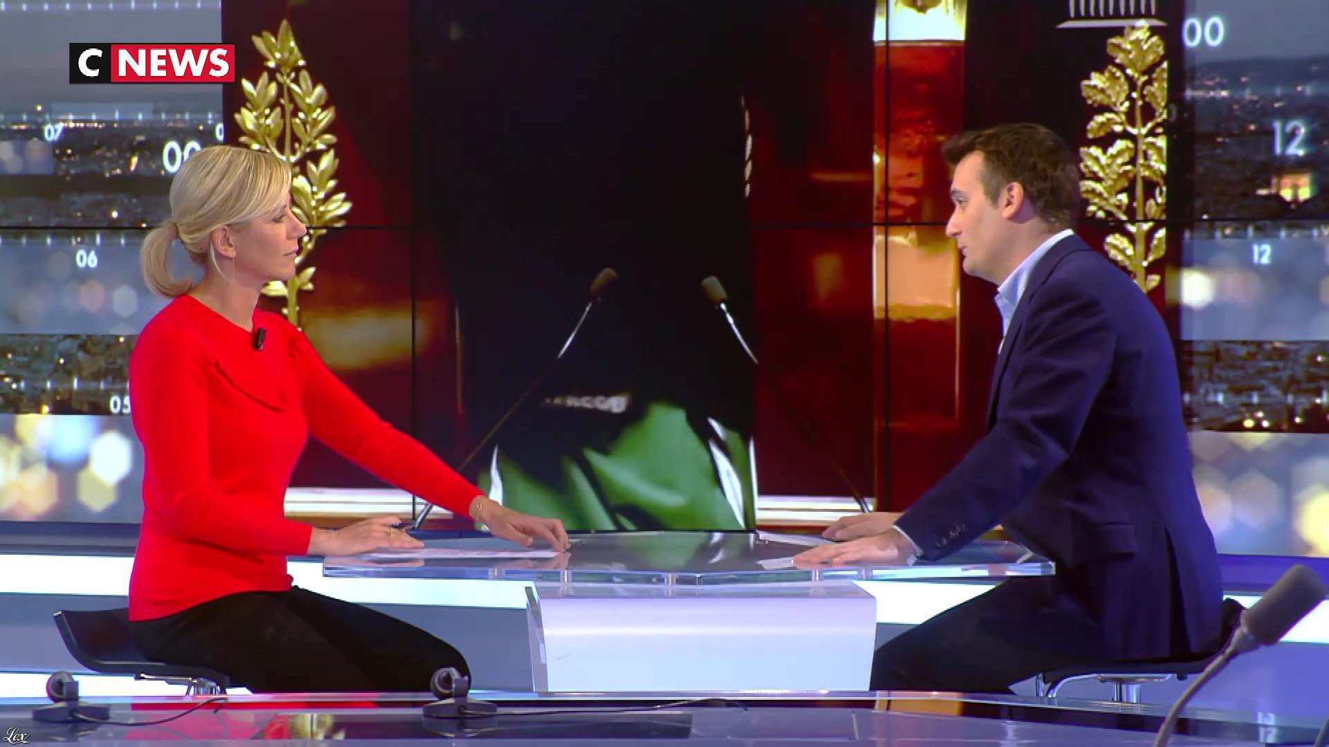 Laurence Ferrari dans Punchline. Diffusé à la télévision le 07/12/17.