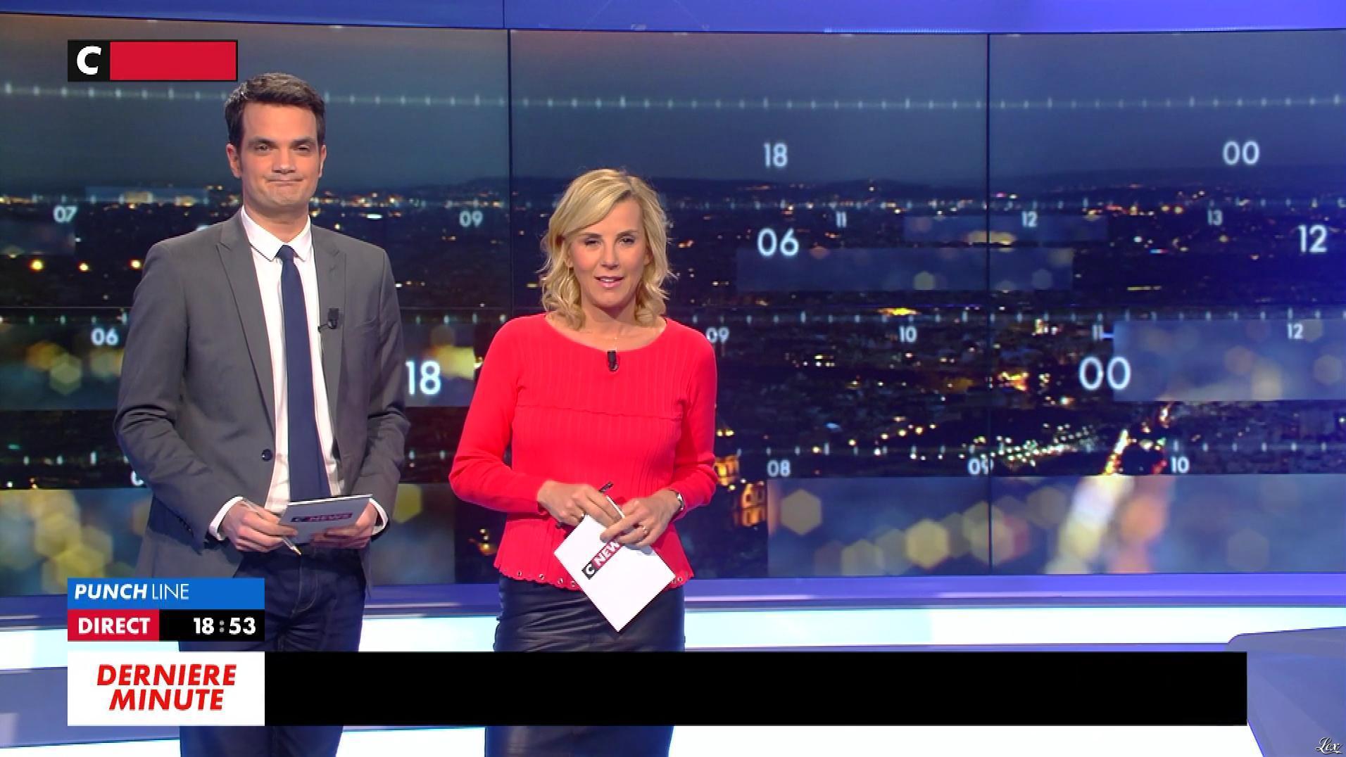 Laurence Ferrari dans Punchline. Diffusé à la télévision le 20/03/18.