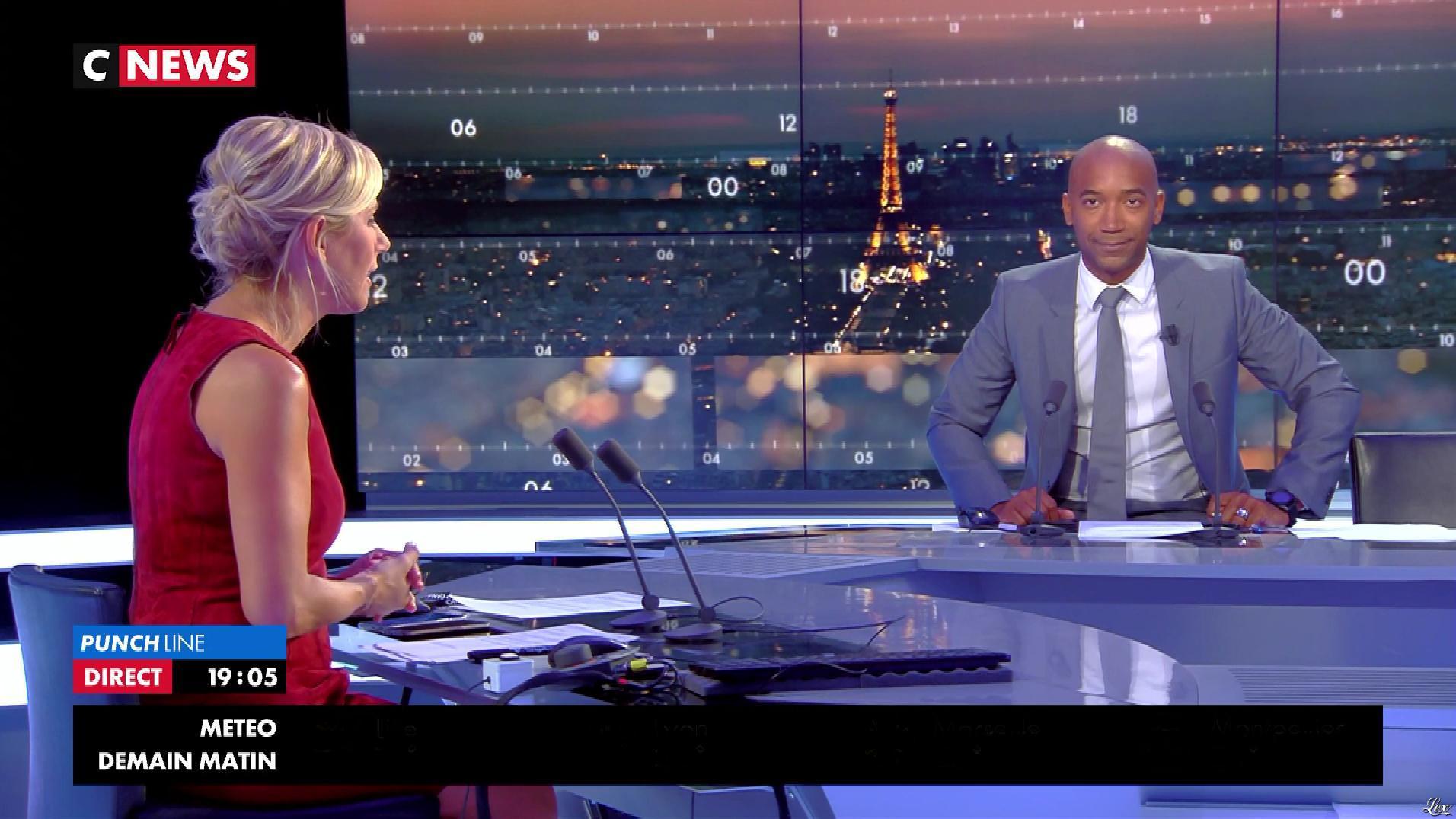 Laurence Ferrari dans Punchline. Diffusé à la télévision le 29/08/17.