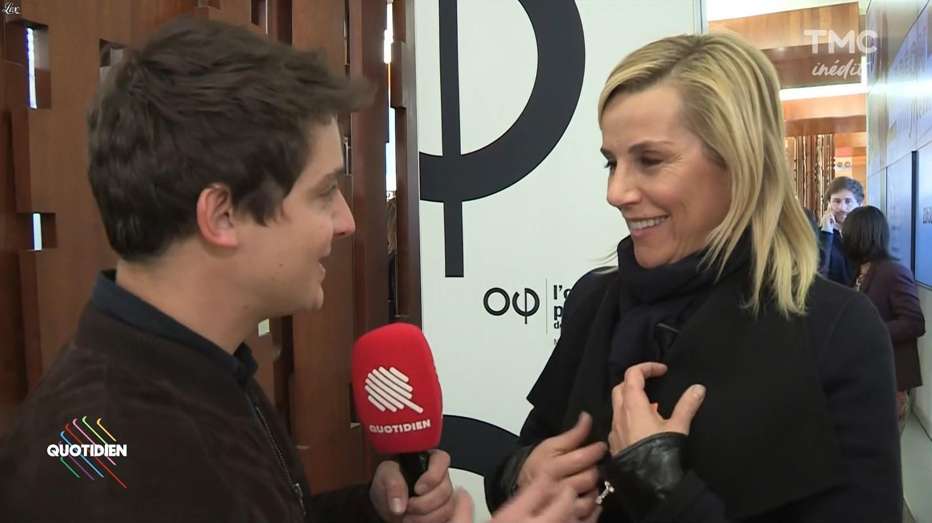 Laurence Ferrari dans Quotidien. Diffusé à la télévision le 04/12/17.