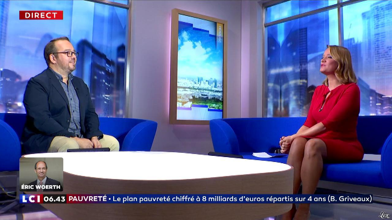 Pascale De La Tour Du Pin dans la Matinale. Diffusé à la télévision le 13/09/18.