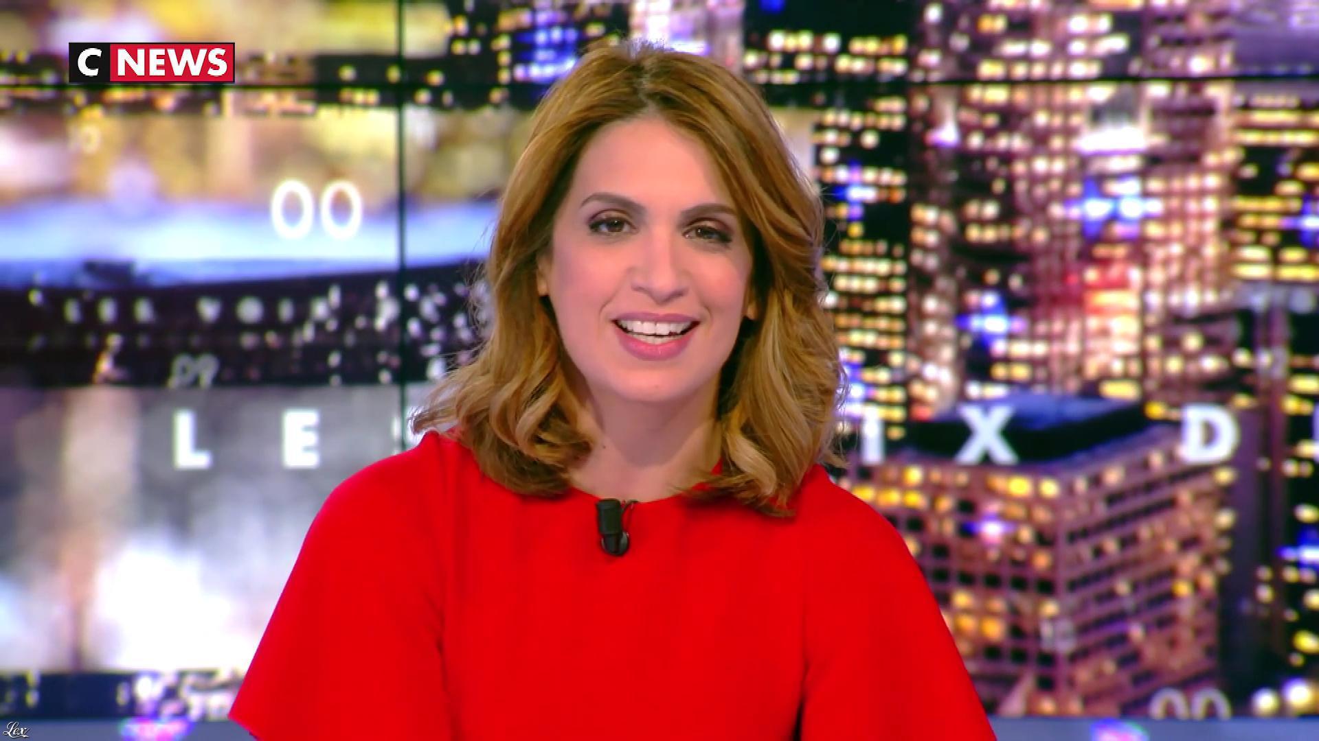 Sonia Mabrouk dans les Voix de l'Info. Diffusé à la télévision le 05/03/18.