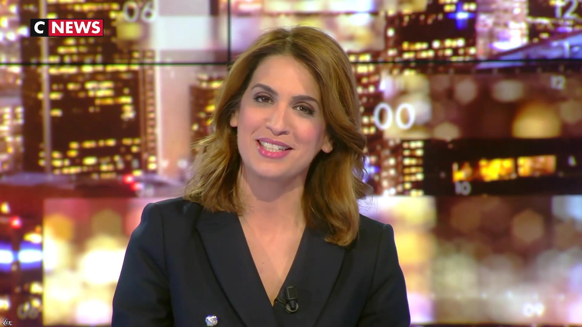 Sonia Mabrouk dans les Voix de l'Info. Diffusé à la télévision le 09/04/18.