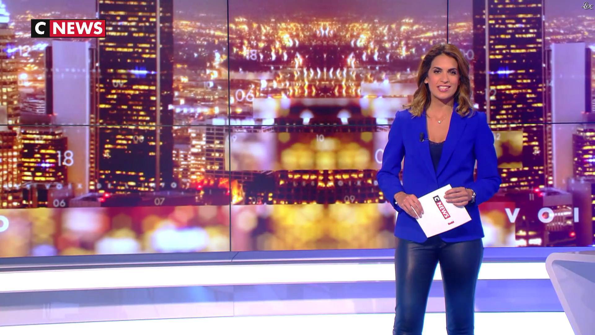 Sonia Mabrouk dans les Voix de l'Info. Diffusé à la télévision le 13/09/18.