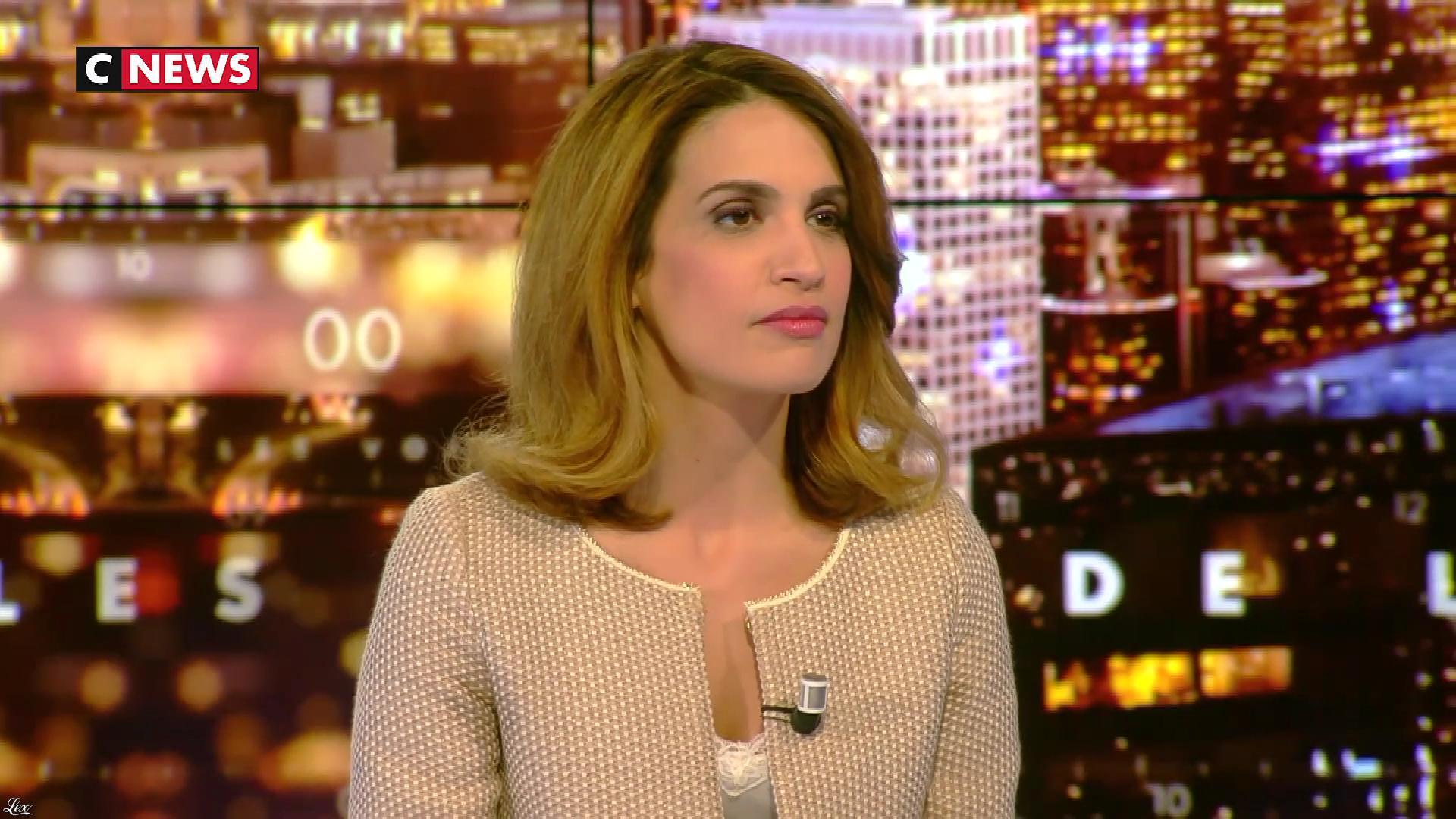 Sonia Mabrouk dans les Voix de l'Info. Diffusé à la télévision le 19/04/18.