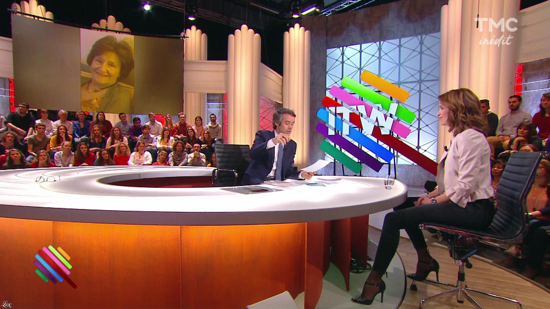 Sonia Mabrouk dans Quotidien. Diffusé à la télévision le 08/03/17.