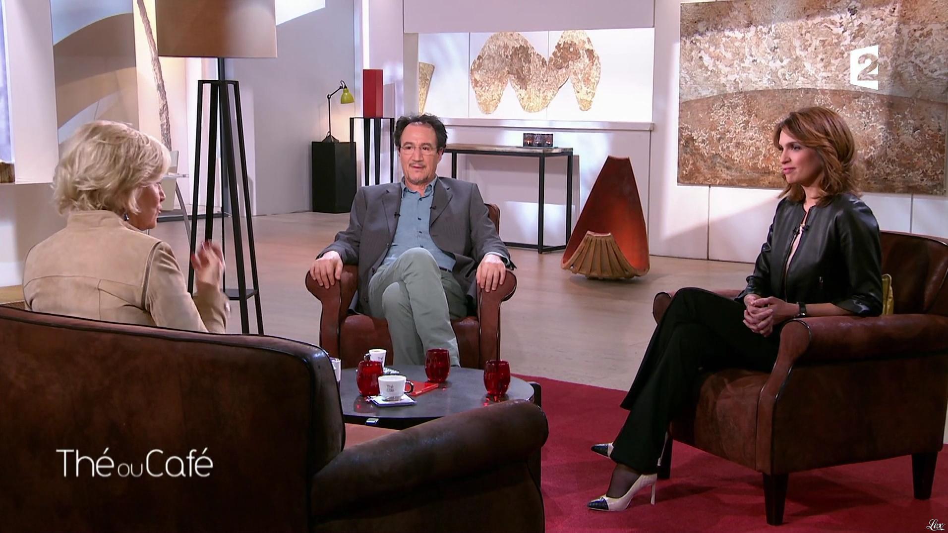 Sonia Mabrouk dans The ou Cafe. Diffusé à la télévision le 12/03/17.