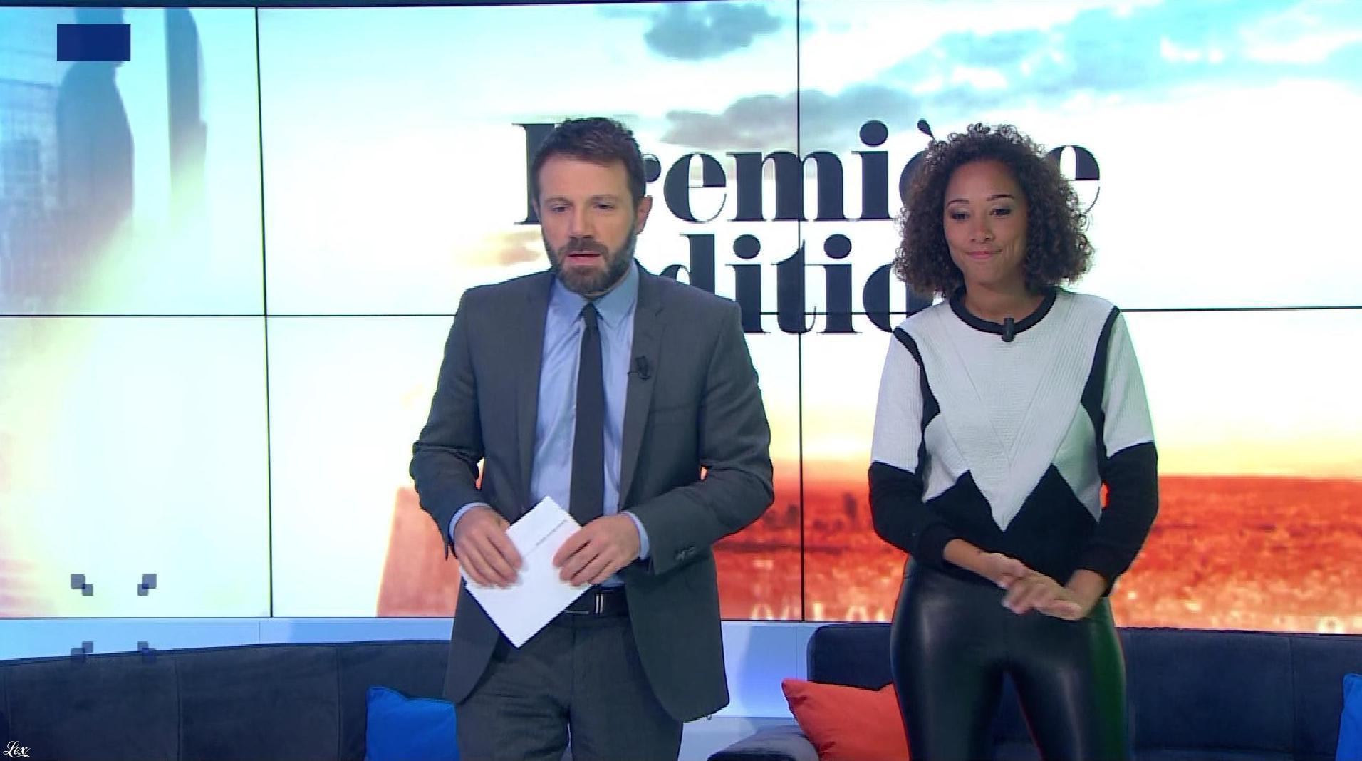 Virginie Sainsily dans Première Edition. Diffusé à la télévision le 26/09/18.