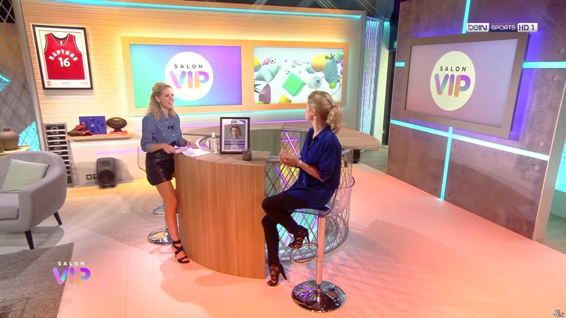 Claire Arnoux dans Salon VIP. Diffusé à la télévision le 10/09/20.