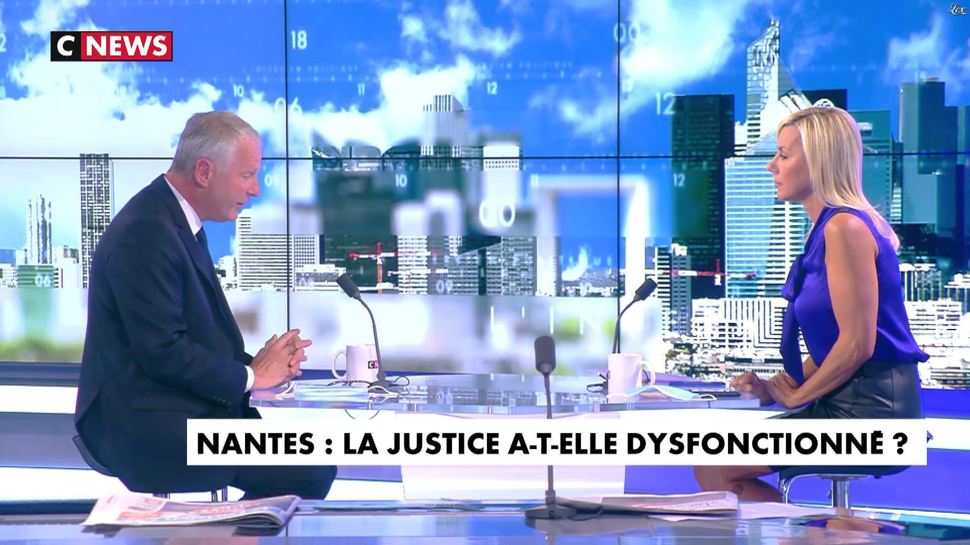 Laurence Ferrari dans l'Interview de Laurence Ferrari. Diffusé à la télévision le 01/09/20.