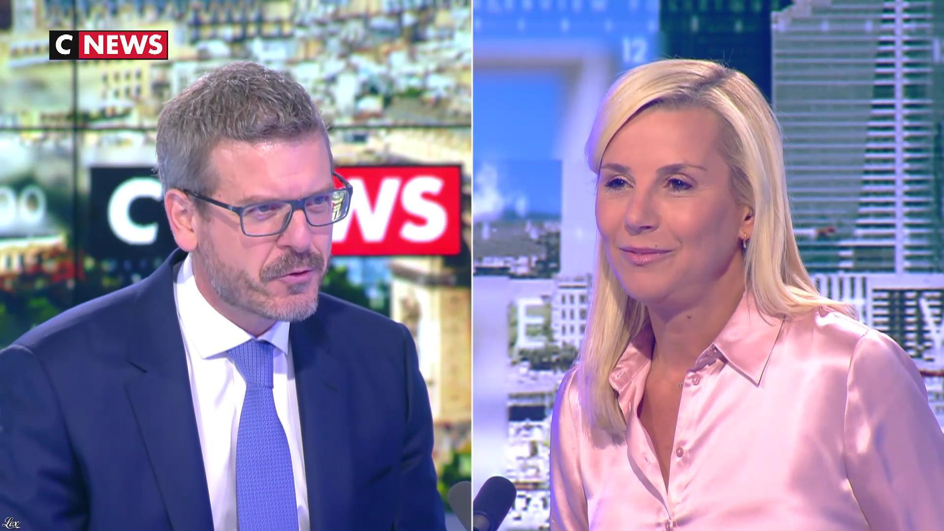 Laurence Ferrari dans l'Interview de Laurence Ferrari. Diffusé à la télévision le 02/09/20.