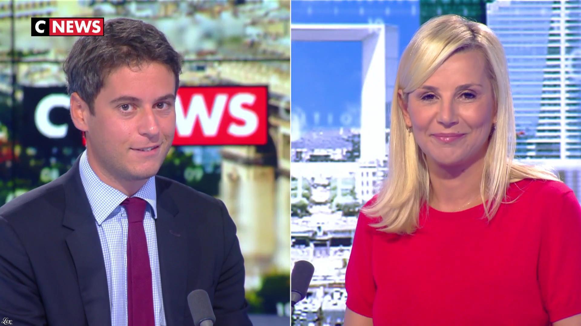 Laurence Ferrari dans l'Interview de Laurence Ferrari. Diffusé à la télévision le 04/09/20.