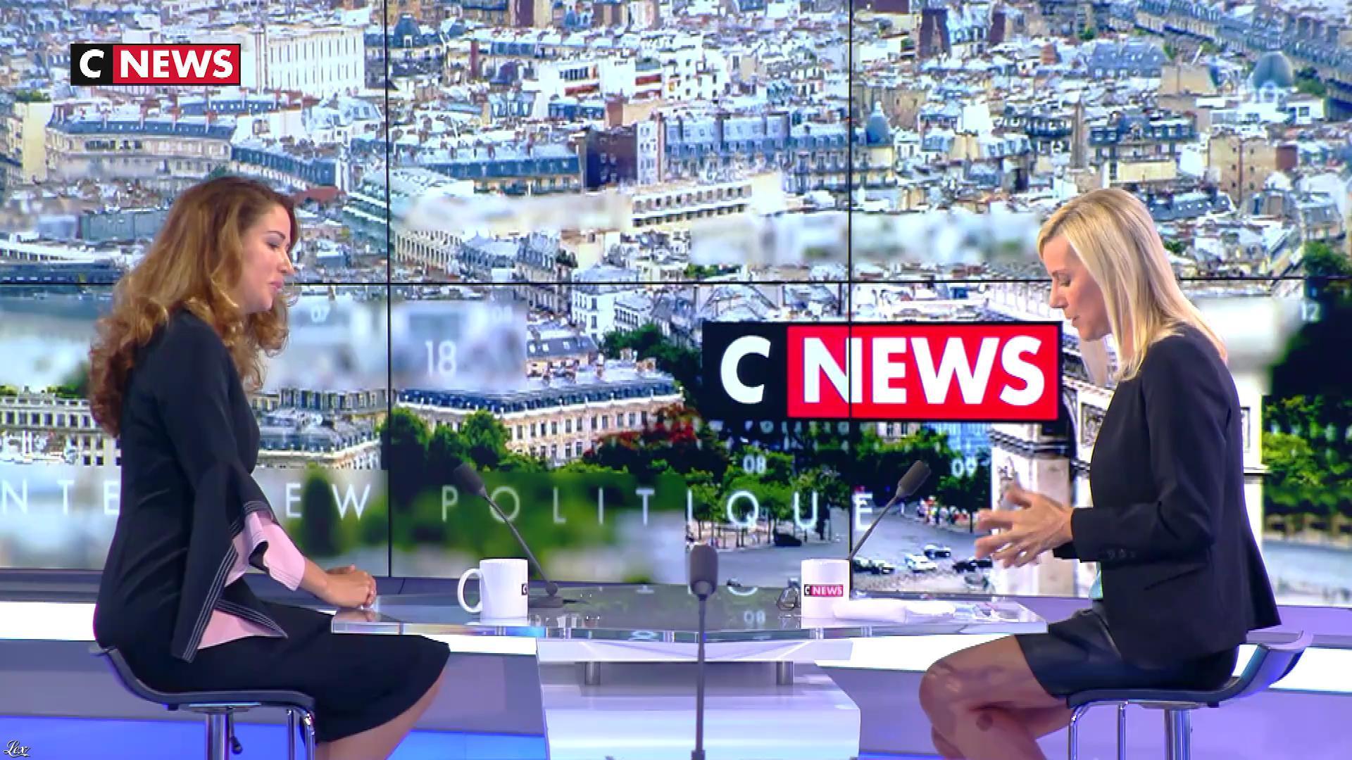 Laurence Ferrari dans l'Interview de Laurence Ferrari. Diffusé à la télévision le 09/09/20.