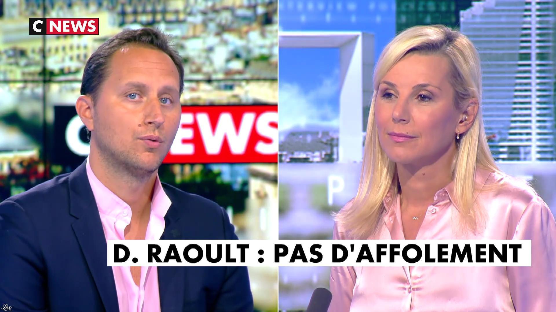 Laurence Ferrari dans l'Interview de Laurence Ferrari. Diffusé à la télévision le 16/09/20.