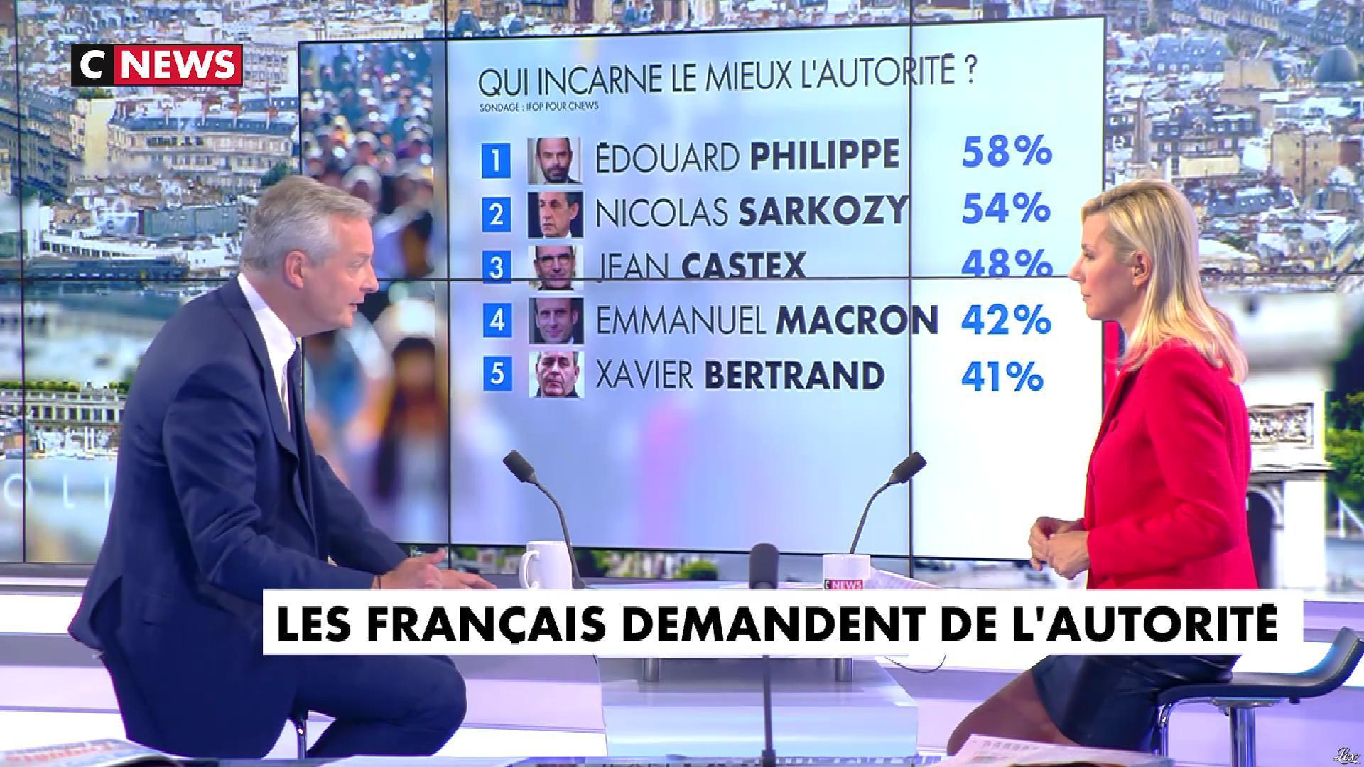 Laurence Ferrari dans l'Interview de Laurence Ferrari. Diffusé à la télévision le 17/09/20.