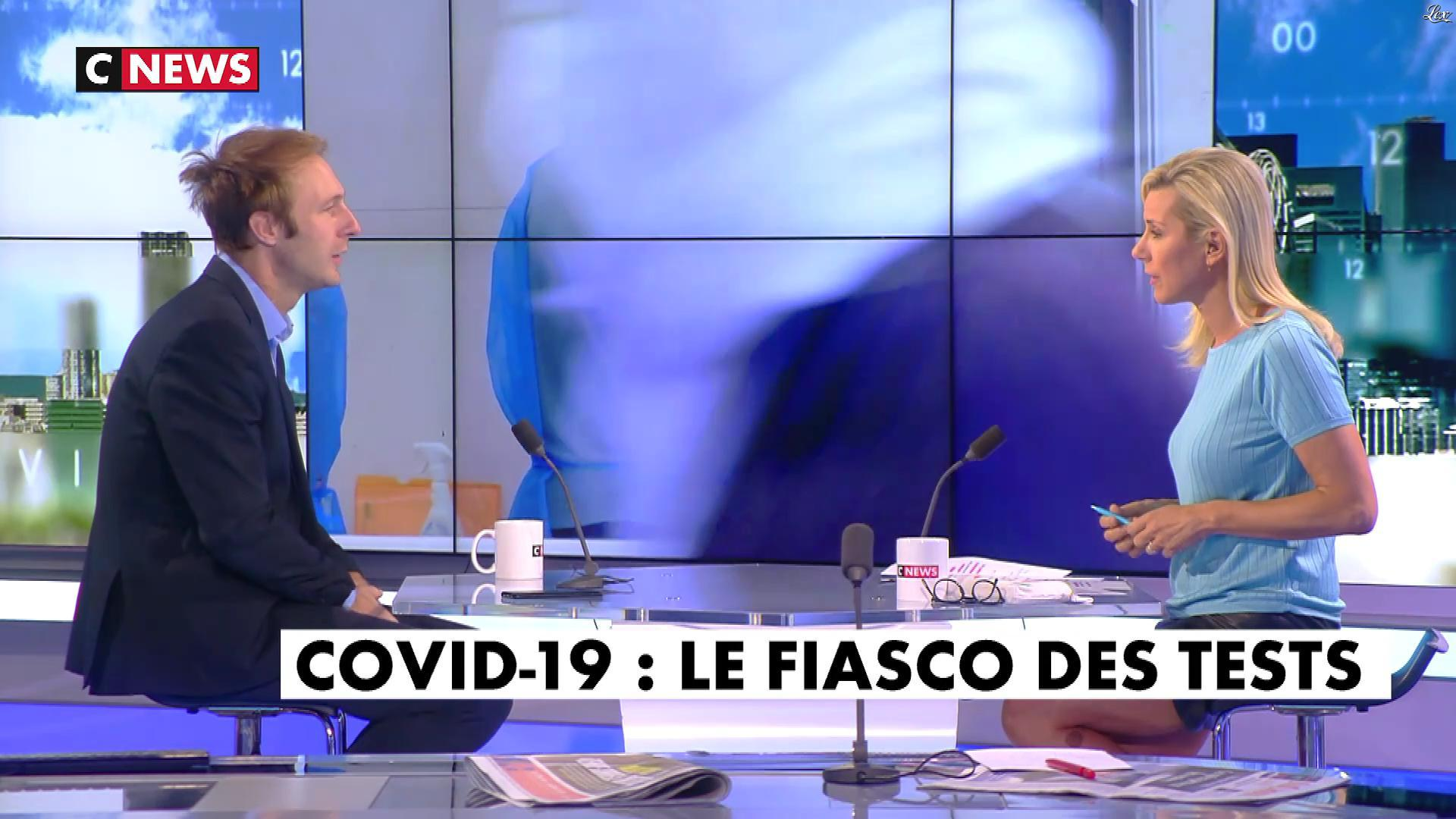 Laurence Ferrari dans l'Interview de Laurence Ferrari. Diffusé à la télévision le 18/09/20.