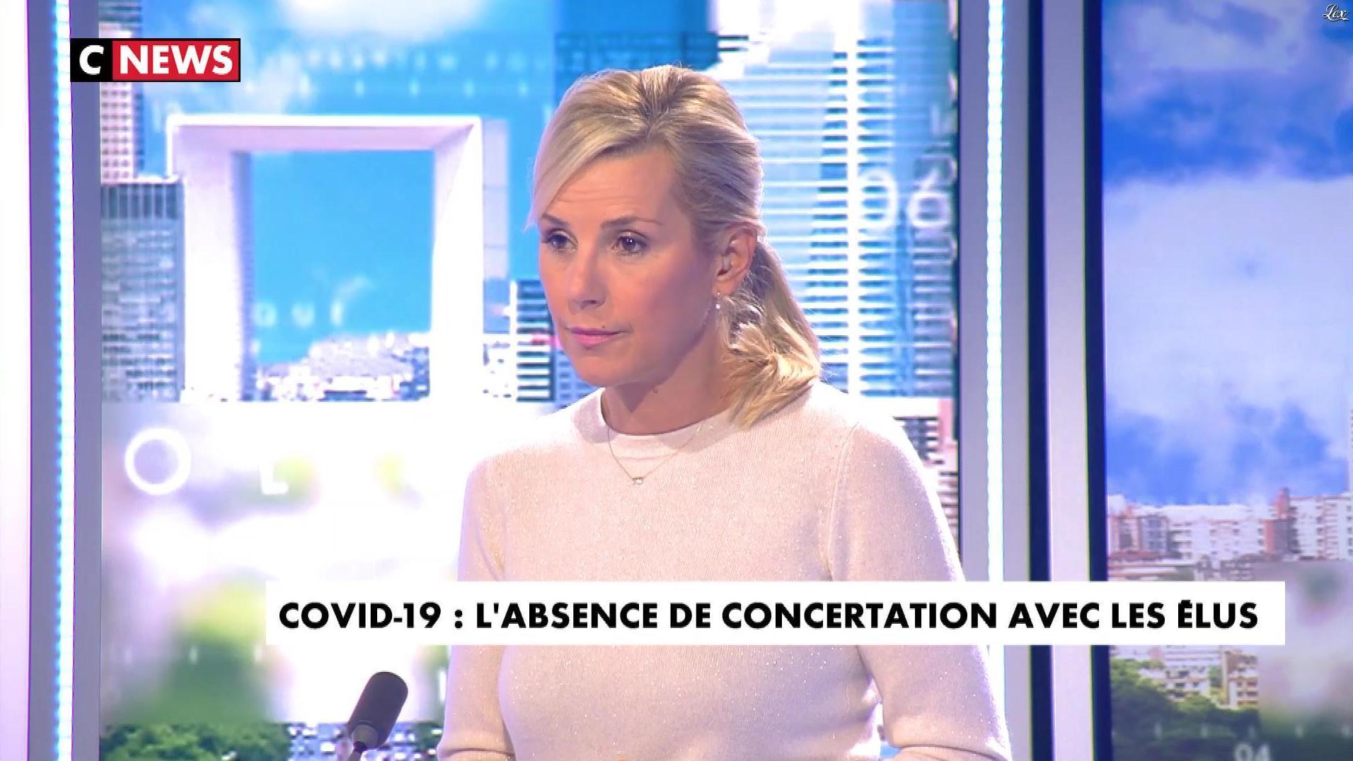 Laurence Ferrari dans l'Interview de Laurence Ferrari. Diffusé à la télévision le 25/09/20.