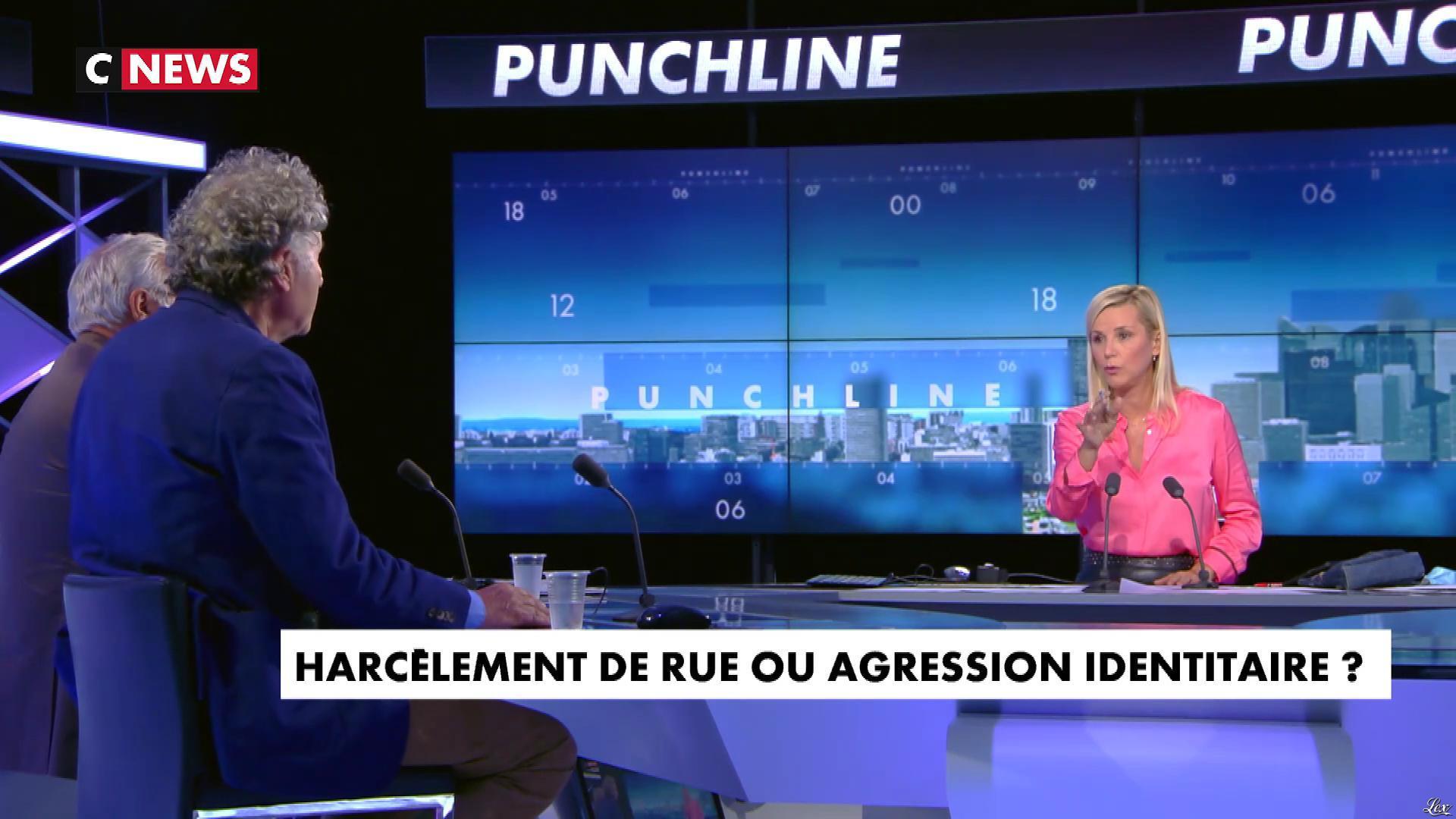 Laurence Ferrari dans Punchline. Diffusé à la télévision le 23/09/20.