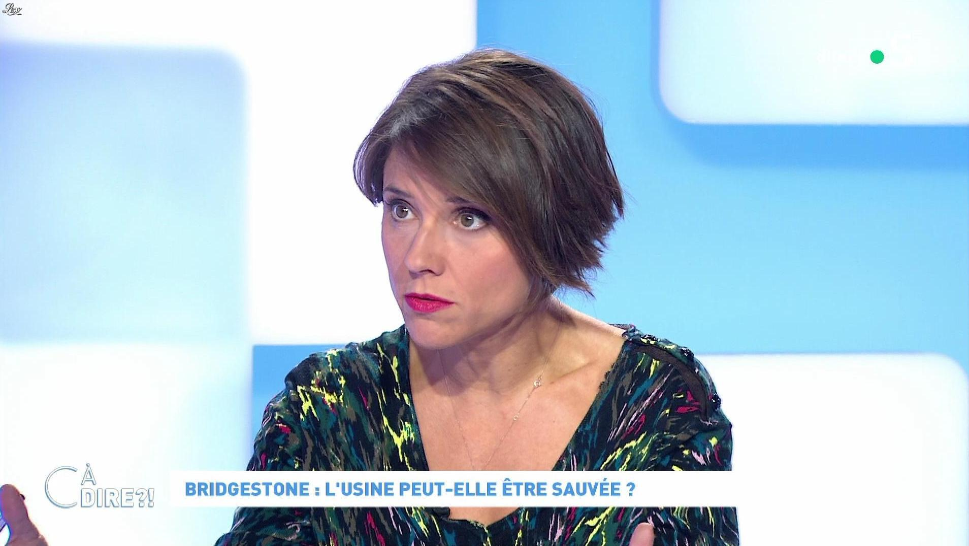 Mélanie Taravant dans C à Dire. Diffusé à la télévision le 21/09/20.