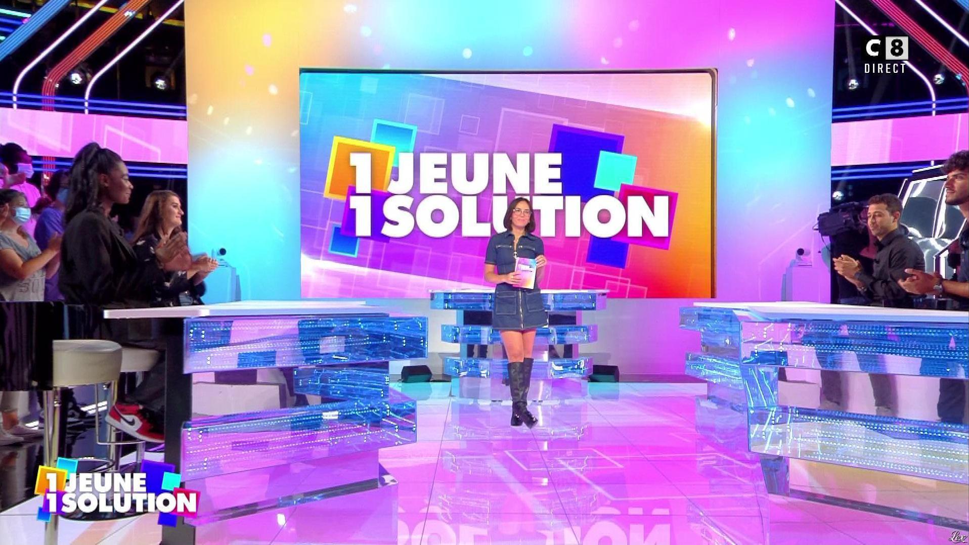 Agathe Auproux dans 1 Jeune 1 Solution. Diffusé à la télévision le 10/09/21.