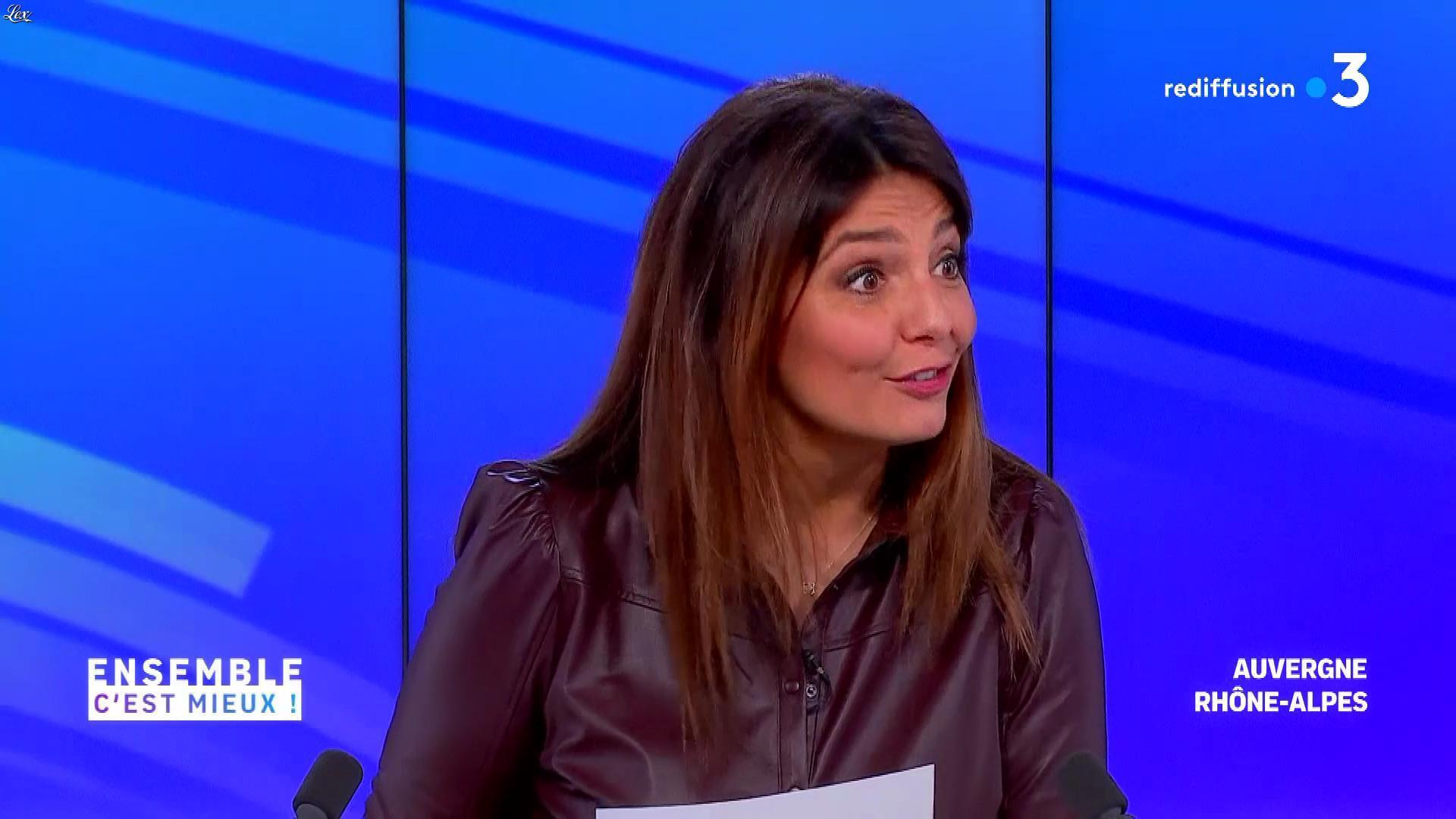 Carinne Teyssandier dans Ensemble c'est Mieux. Diffusé à la télévision le 19/01/21.