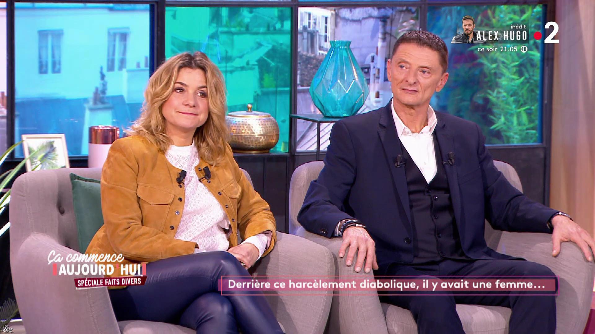 Christèle Albaret dans Ça Commence Aujourd'hui. Diffusé à la télévision le 09/03/20.