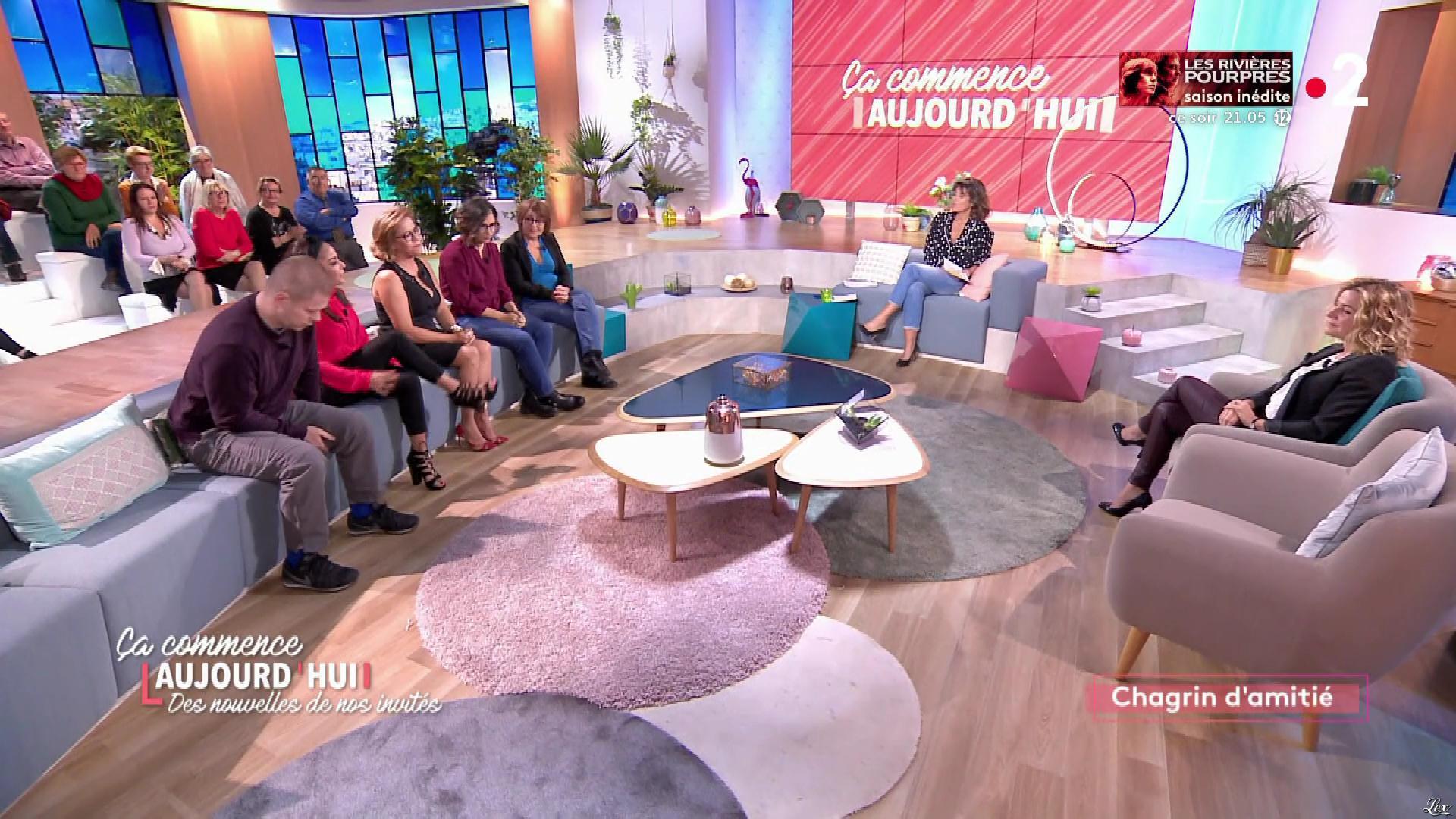 Christèle Albaret dans Ça Commence Aujourd'hui, Des Nouvelles.... Diffusé à la télévision le 27/01/20.