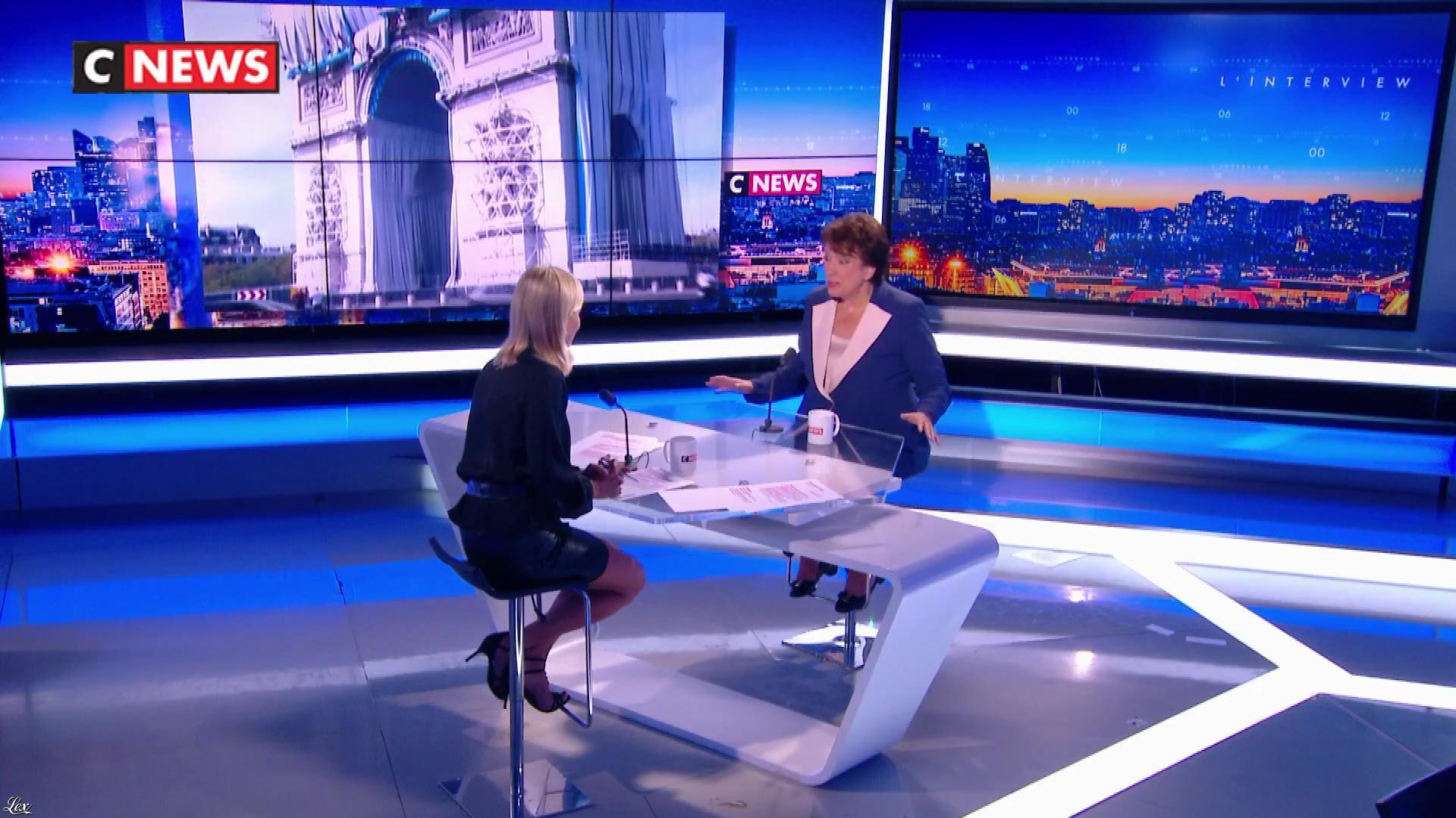Laurence Ferrari dans la Matinale. Diffusé à la télévision le 16/09/21.
