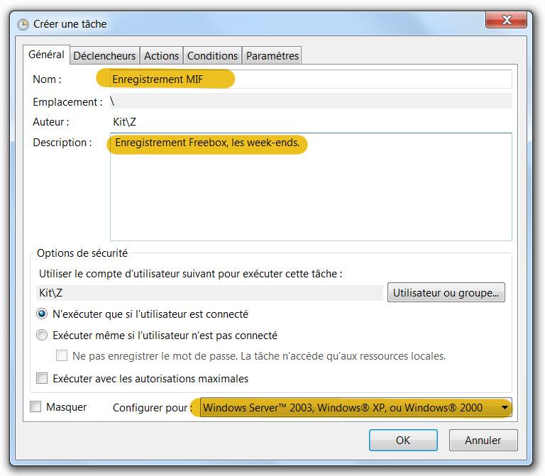 ext - programmer un enregistrement avec la freebox et vlc - 3